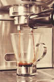 Koffiemachine Stock Foto