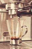 Koffiemachine stock foto
