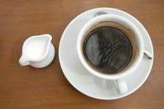 Koffiemelk Stock Foto