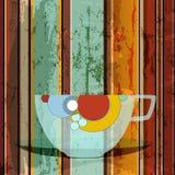 Koffiemenu Stock Fotografie