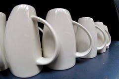 Koffiemokken Royalty-vrije Stock Afbeeldingen