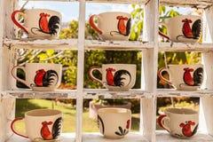 Koffiemokken Royalty-vrije Stock Afbeelding