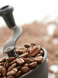 Koffiemolen stock foto