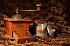 Koffiemolen Royalty-vrije Stock Afbeelding