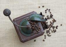 Koffiemolen Stock Afbeeldingen