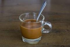 Koffieochtend in lokale Aziatische stijl Royalty-vrije Stock Afbeeldingen