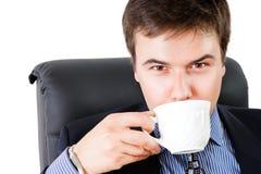 Koffiepauze Stock Foto