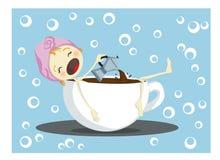 Koffiepauze Royalty-vrije Stock Foto
