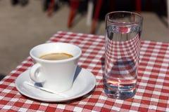 Koffiepauze stock fotografie