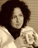Koffiepauze 3 royalty-vrije stock fotografie