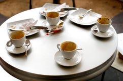 Koffiepauze Stock Afbeelding