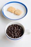 Koffiepauzereeks Royalty-vrije Stock Foto's