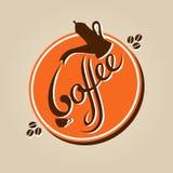 Koffiepictogram Stock Foto's