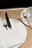 Koffieplaats het Plaatsen Royalty-vrije Stock Foto's