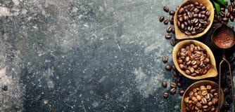 Koffiesamenstelling Stock Afbeelding