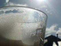 Koffieschuim Stock Foto