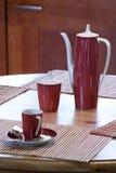 Koffietafel Stock Foto