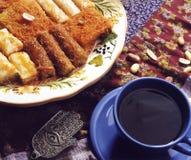 Koffietafel Royalty-vrije Stock Fotografie