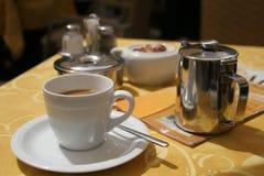 Koffietafel Royalty-vrije Stock Afbeelding