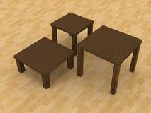 Koffietafels Vector Illustratie
