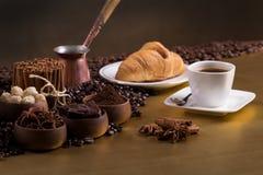 Koffietijd Stock Fotografie