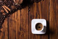Koffietijd Stock Foto's