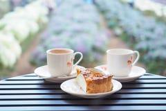 Koffietijd in de ochtend Royalty-vrije Stock Foto