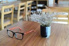 Koffietijd van de lente stock afbeelding