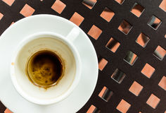 Koffievlek Stock Fotografie