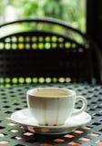 Koffievlek Royalty-vrije Stock Fotografie