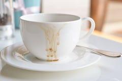 Koffievlek Royalty-vrije Stock Afbeelding