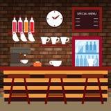 Koffiewinkel, Bar, Bar Royalty-vrije Stock Fotografie