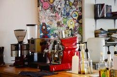 Koffiewinkel in Thailand (koffie) royalty-vrije stock foto