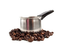 Koffiezetapparaat Stock Foto