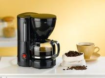 Koffiezetapparaatmachine Stock Foto