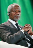 Kofi Annan Imagen de archivo libre de regalías