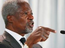 Kofi Annan Foto de Stock Royalty Free