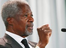 Kofi Annan Royalty Free Stock Photos