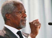 Kofi Annan Fotos de Stock Royalty Free