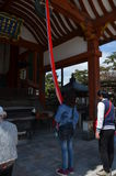Kofoku-ji tempel Nara Japan Royaltyfria Foton