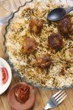 Kofta Biryani - A kofta based vegetarian biryani Royalty Free Stock Image