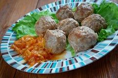Kofta -  meatballs Royalty Free Stock Photo