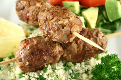 Koftas And Couscous 5 Stock Photos