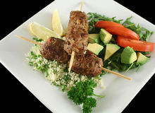 Koftas And Couscous 1 Royalty Free Stock Images