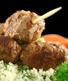 Koftas And Couscous 7 Royalty Free Stock Photos