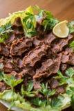 Kofte del Cig/comida turca Foto de archivo libre de regalías