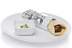 Kofte Kebab Wrap Royalty Free Stock Image