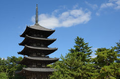 Kofuku-ji Pagoda Royalty Free Stock Photo