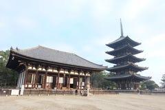 Kofuku-kofuku-ji ναός Νάρα Στοκ εικόνες με δικαίωμα ελεύθερης χρήσης