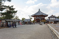 Kofukuji Temple. Nara, Japan - November 28, 2015: Kofukuji use to be the family temple of the Fujiwara, the most powerful family clan during much of the Nara and Stock Images